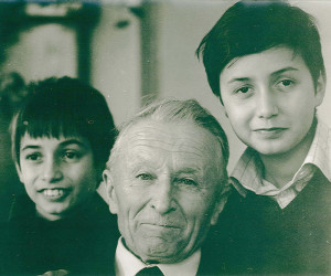 Enrico, Giorgio and Enrico Cappellini