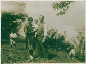 Enrico, Carlo and Emilia Cappellini